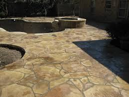 stamped concrete overlay. Stamped Concrete Pool Deck Overlay