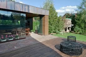 outdoor wood patio ideas. Brick And Wood Backyard Patio Outdoor Ideas