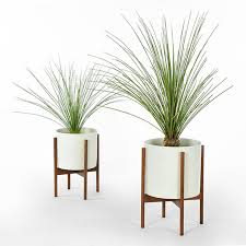 modern office plants. PLANT STAND - Modernica Case Study Planter W/ Stand White Modern Indoor Pots And Planters Office Plants