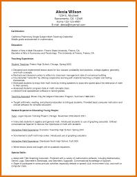 8 Application Letter For Math Teacher Texas Tech Rehab Counseling
