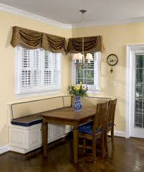 Kitchen Alcove Kitchen Booth Seating Dining Room Transitional With Alcove Area