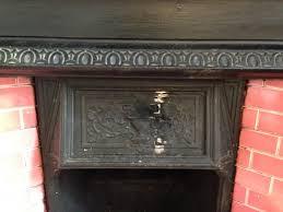 welding repair to cast iron fireplace 2