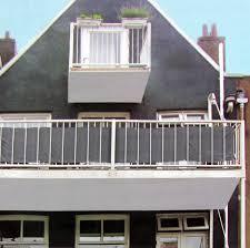 Sichtschutz 445x76cm F R Balkon Anthrazit Garten Sonnenschutz