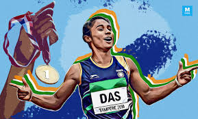 Hima was given an appointment letter to him at the sarusjai sports complex. Hima Das Proves Yet Again That She Is The Golden Girl Of India Culture