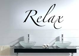 sublime amazon bathroom wall stickers metal bathroom wall art fancy ideas relax wall art text quotes stickers adhesive sticker 1 metal amazon uk bathroom  on bathroom wall art uk amazon with sublime amazon bathroom wall stickers metal bathroom wall art fancy