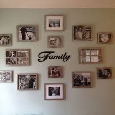 extraordinary family photo wall 7 best idea image on hang picture gallery collage wallpaper display clock arrangement sticker frame