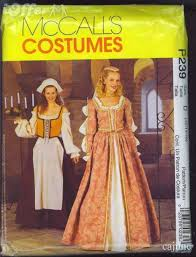 Costume Sewing Patterns Adorable McCalls P48 Elizabethan Costumes Sewing Pattern 48 48 For Sale