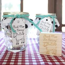 DIY Baby-Q | Thank Moo For Coming Favors
