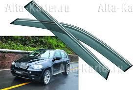 <b>Дефлекторы Noble</b> для <b>окон</b> BMW X5 E70 2007-2009. Артикул ...