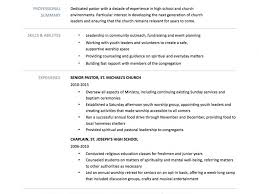 Cheerful Ministry Resume Templates 7 Pastor Resumes Example Youth