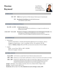 Francais Curriculum Vitae Template The Free Website Templates French