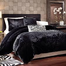 Black Panther Faux Fur Duvet Cover Set Bed Bath & Beyond