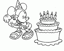 1000 plus free coloring pages for kids to enjoy the fun of coloring including disney movie coloring pictures and kids favorite cartoon characters. Disney Happy Birthday Coloring Pages Coloring Home