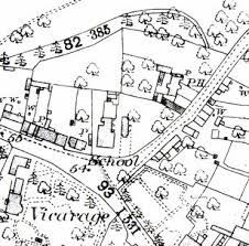 the school house, trumpington, by william butterfield Map Plan For House left extract from 1885 ordnance survey map, showing the school with the school house to its east right the school house, with the former church school to free map plan for house