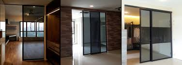 spacious design with hanging sliding system