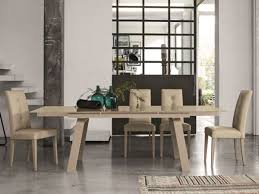 modern marte extending gl top dining table in several finish options by target point