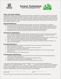 Surgical Tech Resume Sample Afterelevenblog Com