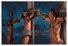 Image result for pictures of the thief on the cross
