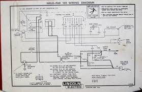 diode replacement on lincoln weld pak 100 welder repair welder diode replacement above is the wiring diagram for the lincoln