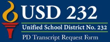 Curriculum & Instruction / Pd Transcript Request Form