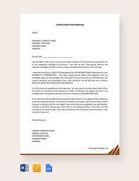 Intent Letter Sample For School 13 Sample Letter Of Intent For Promotion Templates Pdf Doc