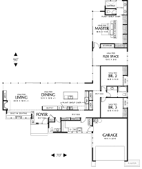 l shaped house plans with 3 car garage dont need a three car garage but conceptually it s got legs