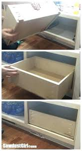 build your own drawer build a drawer how to build a drawer for drawer glides tandem build your own drawer