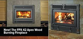 42 apex wood fireplace burning mountain home center the new cost