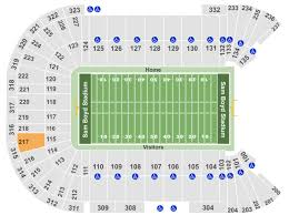 Sam Boyd Stadium Virtual Seating Chart Sam Boyd Stadium Tickets With No Fees At Ticket Club