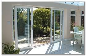 sliding 4 panel patio doors