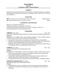 Resume Template Job Skills Examples Of To Put On A For 89 My First