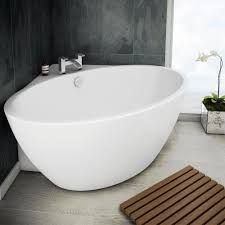 orbit corner modern free standing bath 1270 x 1270mm medium image