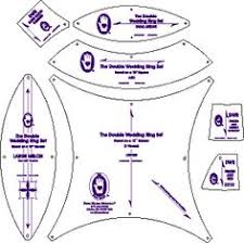 Template to make a double wedding ring quilt. http://www.frommarti ... & Template to make a double wedding ring quilt. http://www.frommarti Adamdwight.com