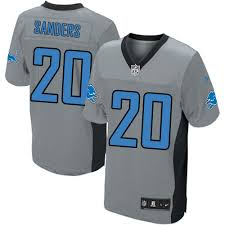Elite Jersey Sanders - Barry Nike Detroit Lions cadddead|Touch The Banner