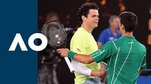 Su mejor ranking atp ha sido el número 3, alcanzado el 21 de noviembre de 2016. Milos Raonic Vs Novak Djokovic Extended Highlights Qf Australian Open 2020 Youtube