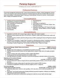 Professional Procurement Resume Examples Your Prospex