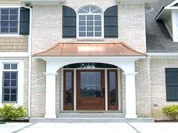 awning front door s glass canopy uk fos