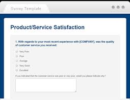 Customer Service Survey Template Free Questionnaire Template Sample Questionnaires Smartsurvey