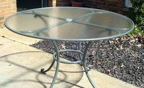 round patio table for 6 shocking glass top patio table and chairs inch round outdoor patio round patio table