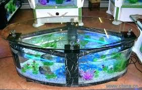 coffee table fish tank coffee table oval coffee table fish tank glass fish tanks regarding fish