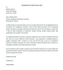Consulting Cover Letter Template Management Consulting Cover Letter Fascinating Management Consulting Cover Letter