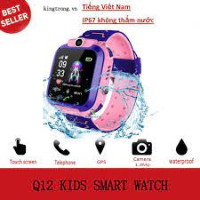 Q12 Có thể bơi Đồng hồ thông minh Dành cho trẻ em Học sinh chống nước cảm  ứng chông nước kids smart watch A28
