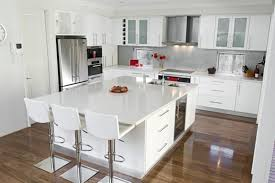 Beautiful Kitchen With All White Design