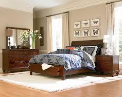 Camden Queen Storage Bed - Chestnut |