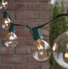 commercial patio lights. Patio Lights \u2013 Commercial Clear Globe String Lights, 25 G50 E17 With Christmas -
