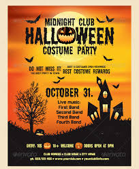 halloween template flyer 21 halloween flyer designs and templates download design trends