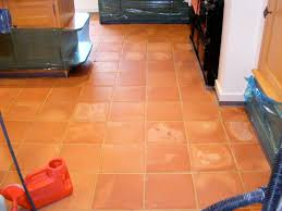image of mexican terracotta floor tiles