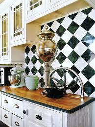 Black White Kitchen Tiles Ceramic Tile Backsplashes Pictures Ideas Tips From Hgtv Hgtv