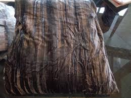 details about west elm crinkle velvet duvet cover king slate 1 king sham new