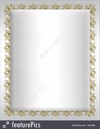 Formal Invitation Template Illustration Of Formal Invitation Template White Satin 17